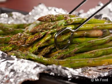 Baked Balsamic Asparagus