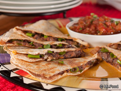 Across the Border Quesadillas