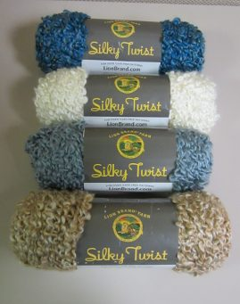 Silky Twist Yarn from Lion Brand
