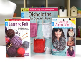 Learn to Knit Book Bundle