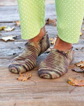 Slippers Crochet Pattern PDF,Easy, Great For Beginners