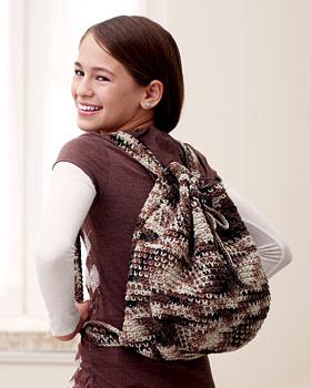 Camouflage Crochet Bag