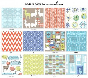 Modern Home FaveQuilts Giveaway: Modern Home Fat Quarter Bundle