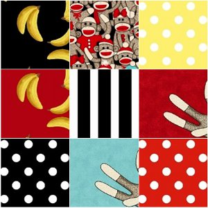 Socky FaveQuilts Giveaway: Socky Fat Quarter Bundle