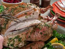 Herb-Roasted Turkey Classic Roast Turkey
