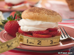 Guilt-Free Strawberry Shortcake