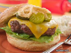 Piled High Cheeseburger