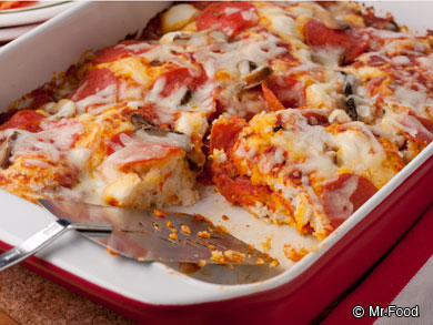 5-Ingredient PIzza Bake