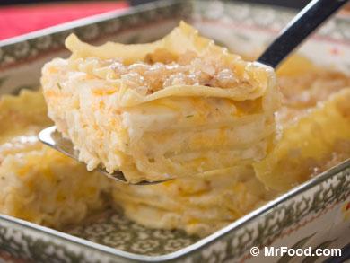 Our Favorite Vegetarian Lasagna Recipes: Pierogi Lasagna