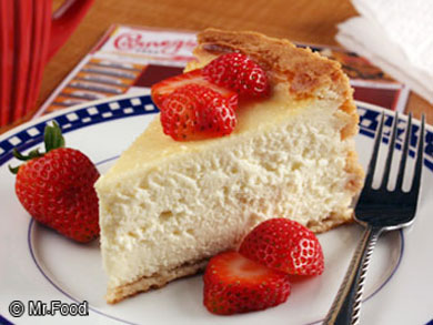 ... of an authentic New York style cheesecake from your very own kitchen
